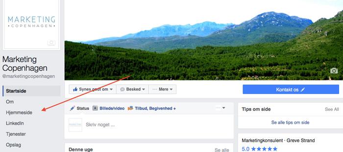 facebook, marketing, copenhagen, marketing copenhagen, profil, billede, layout, seo, markedsføring
