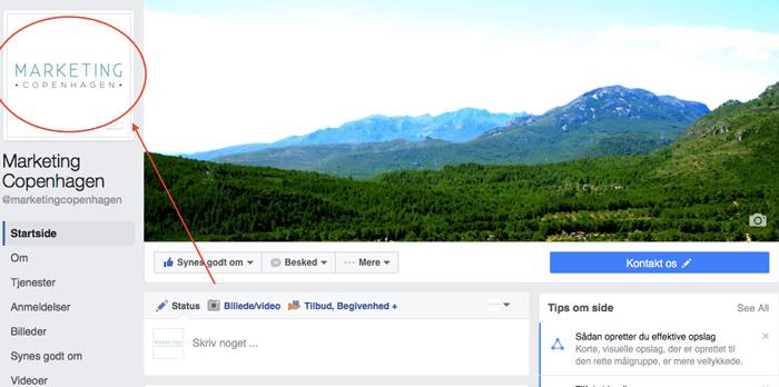 facebook, marketing, copenhagen, marketing copenhagen, profil, billede, layout, seo